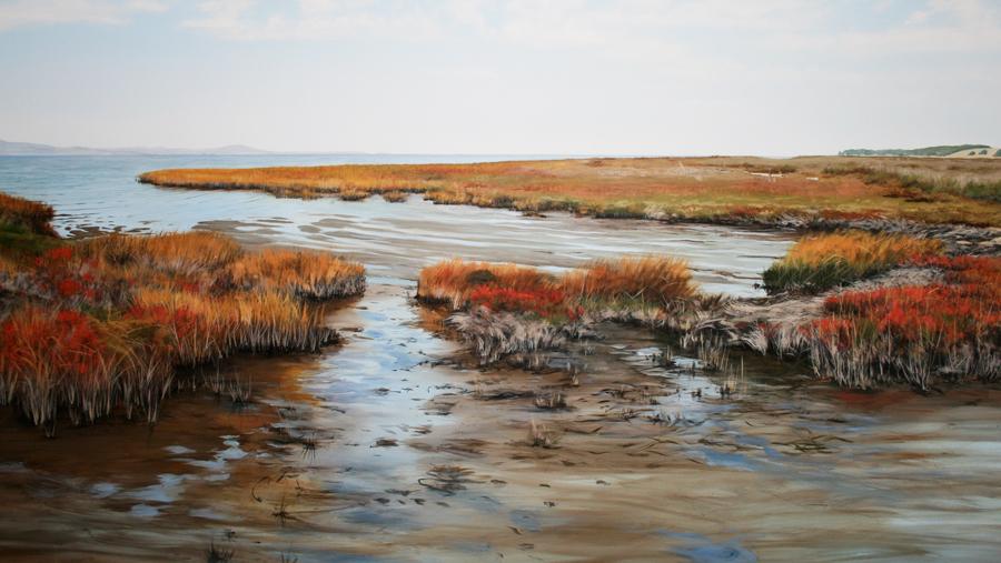 Marsh mural