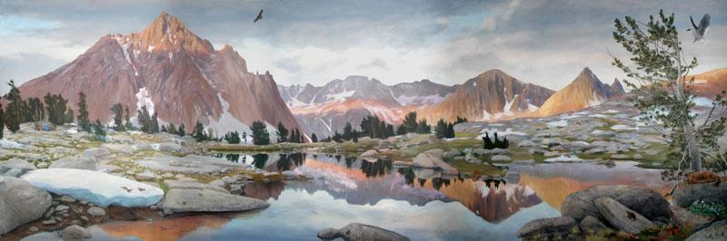 Alpine Landscape 7' X 21'