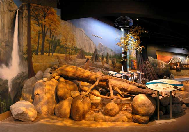 Another view of the Native American Exhibit